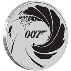 1$ James Bond 007 Black BU