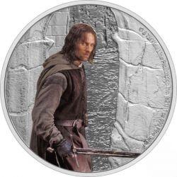 2$ Aragorn - Władca Pierścieni 1 oz Ag 999 Niue Island
