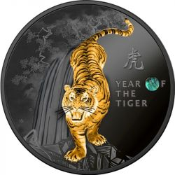 500 Francs Year of the Tiger - Chinese Calendar 14,14g Ag 999 2021 Cameroon