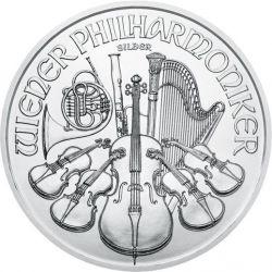 1,5 Euro Vienna Philharmonic 1 oz Ag 999 2021 20 pcs