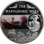The Napoleonic Wars, set of 6 coins 2013 6 x 25 g CuNi