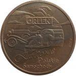 Cult Polish Cars, Orlen, set 2010r. 10 g Ag 500 + 4 x 8,4 g MO