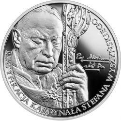 10zł Beatyfikacja Kardynała Stefana Wyszyńskiego 14,14 g Ag 925 2021