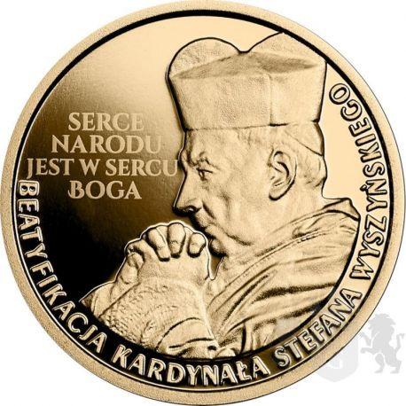 100zł Beatyfikacja Kardynała Stefana Wyszyńskiego 8 g Au 900 2021