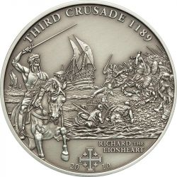 5$ Richard the Lionheart - History of the Crusades 3.