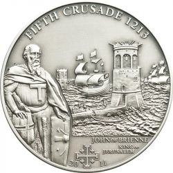 5$ John of Brienne - History of Crusades 5.