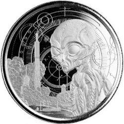 5$ Alien 1 oz Ag 999 2021 Ghana