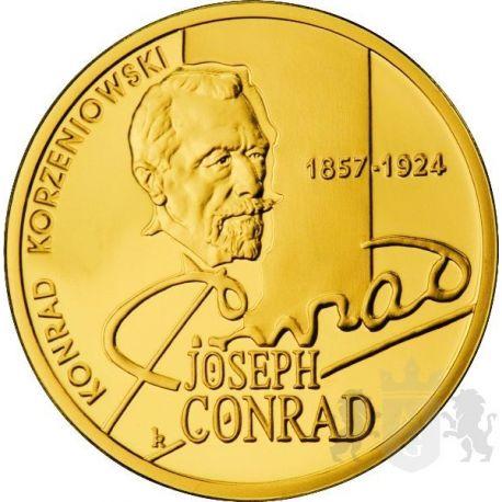 200zł Konrad Korzeniowski - Joseph Conrad 1/2 oz Au 900 2007