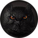 10$ Eagle Owl - Hunters by Night 2 oz Ag 999 2021 Palau