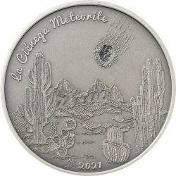 5$ La Cienega - Zderzenie Meteorytów 1 oz Ag 999 2021 Wyspy Cooka