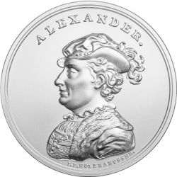 50 zł Aleksander Jagiellończyk - Skarby Stanisława Augusta