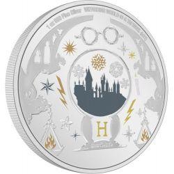 2$ Harry Potter - Życzenia Świąteczne 1 oz Ag 999 2021 Niue
