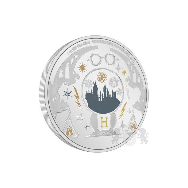 2$ Harry Potter - Season's Greetings 1 oz Ag 999 2021 Niue
