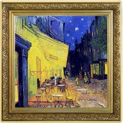 1$ Taras Kawiarni w Nocy, Vincent van Gogh - Skarby Światowego Malarstwa 1 oz Ag 999 2021 Niue