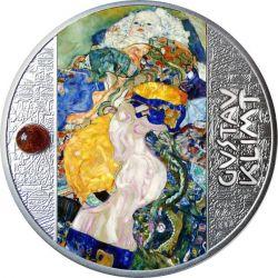 500 Franków Dziecko, Gustav Klimt - Artysta Łamiący Schematy 17,50 g Ag 999 2021 Kamerun