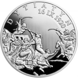 20 zł Dytiatyn - The Polish Thermopylae 28,28 g Ag 925 2021