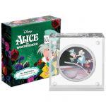 2$ The Mad Hatter - Alice In Wonderland, Disney 1 oz Ag 999 2021 Niue