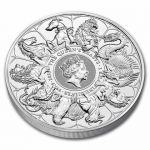 500£ The Queen's Beasts Completer Coin 1 kg Ag 999 2021