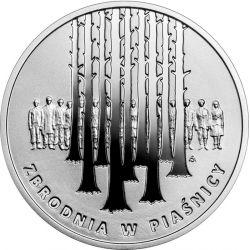 10zł Zbrodnia w Piaśnicy 14,14 g Ag 925 2021