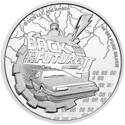 2$ Back to the Future Part II 1 oz Ag 999 2021 Niue