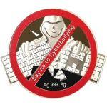 1$ Say NO to Cyberbullying 8 g Ag 999 2021 Fiji