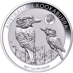 1$ Kookaburra Privy Mark