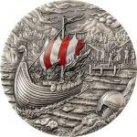 10$ Vikings - Rites of Passage & Afterlife 2 oz Ag 999 2021 Palau