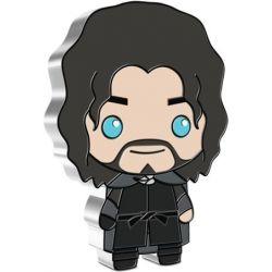 2$ Aragorn - Władca Pierścieni, Chibi 1 oz Ag 999 2021 Niue