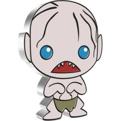 2$ Gollum - The Lord of the Rings, Chibi 1 oz Ag 999 2021 Niue