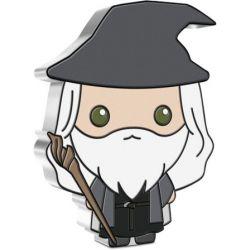 2$ Gandalf - Władca Pierścieni, Chibi 1 oz Ag 999 2021 Niue