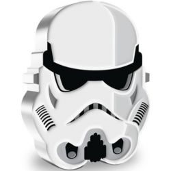 2$ Imperial Stormtrooper - Faces of the Empire, Star Wars 1 oz Ag 999 2021