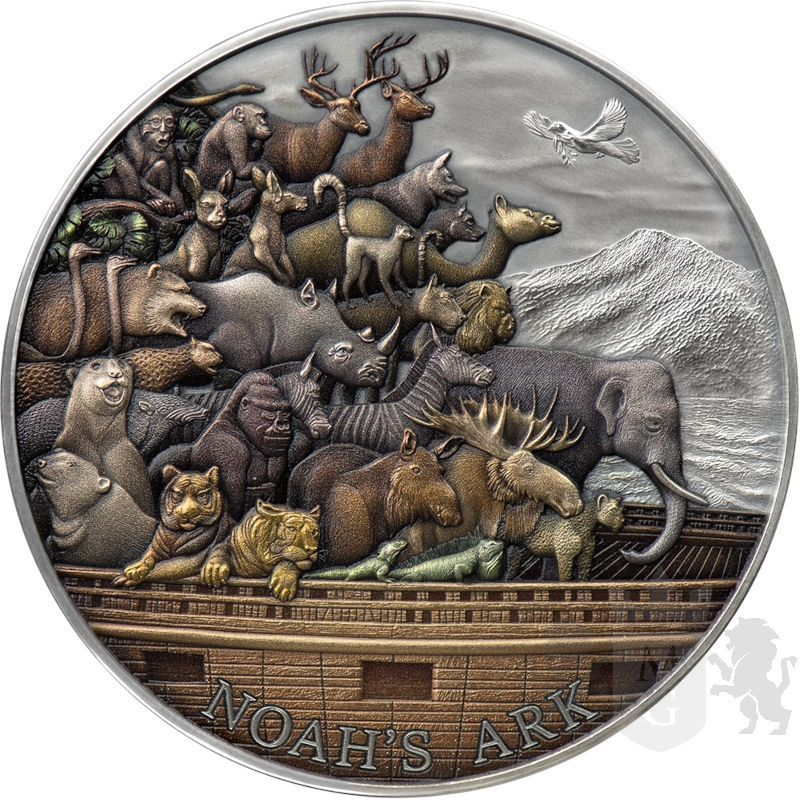 10$ Arka Noego 5 oz Ag 999 2021 Tokelau