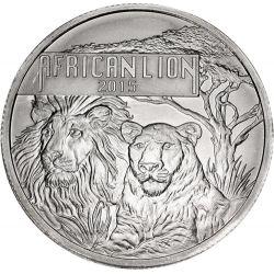 5000 Francs Lwy, Lew Afrykański