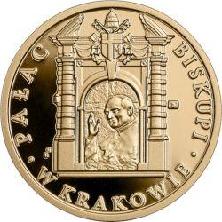 100zł Pałac Biskupi w Krakowie 8g Au 900 2021