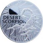 1$ Desert Scorpion- Australia's Most Dangerous 1 oz Ag 999 2022
