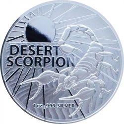1$ Pustynny Skorpion- Najniebezpieczniejsze Stworzenia Australii 1 oz Ag 999 2022