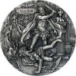 2$ Mars - Roman Gods 2 oz Ag 999 Niue 2021