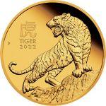 100$ Year Of The Tiger BU 1 oz Au 999 2022 Australia