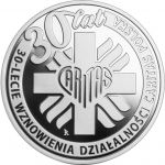 10 zl 30th anniversary of the resumption of Caritas Polska 2021