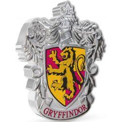 2$ Coat of Arm of Gryffindor - Harry Potter 1 oz Ag 999 2021 Niue