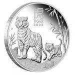 1$ Year of the Tiger, set 3 x 1 oz Ag 999 2022 Australia