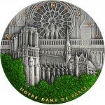 5$ Notre Dame 2 oz Ag 999 2021 Niue