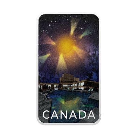20$ Canada's Unexplained Phenomena: The Montréal Incident 1 oz Ag 999 2021 Canada