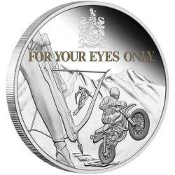 1$ Tylko Dla Twoich Oczu, James Bond 1 oz Ag 999 2021 Tuvalu