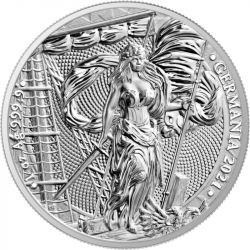 5 Mark Germania BU 1 oz Ag 999 2021