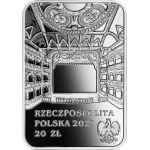 20zł Gabriela Zapolska - Great Actresses 28,28 g Ag 925 2021
