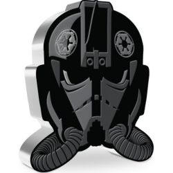 2$ Imperial TIE Fighter Pilot - Faces of the Empire, Star Wars 1 oz Ag 999 2021