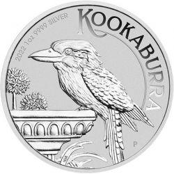1$ Kookaburra 1 oz Ag 999 2022 Australia