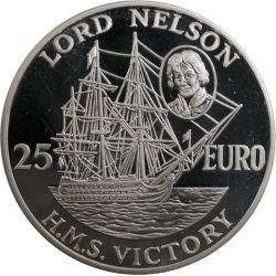 25 Euro Lord Nelson H.M.S....