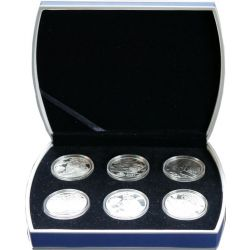Sailing Ships, Set of 6 Coins